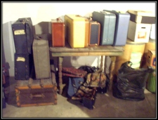 luggage at Green Slope ES 2007